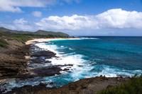 Oahu Rocky Shores II Fine-Art Print