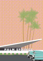 Palm Springs with Convertible Fine-Art Print