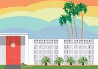 Palm Springs Sunset Fine-Art Print