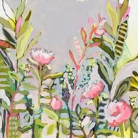 Blushing Wildflowers I Fine-Art Print
