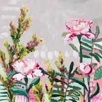 Blushing Wildflowers II Fine-Art Print