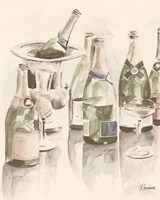 Sepia Champagne Reflections II Fine-Art Print