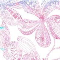 Floral Embossed II Fine-Art Print