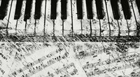 Black & White Piano Keys Fine-Art Print