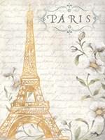 Golden Paris I Fine-Art Print