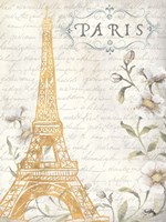 Golden Paris I Fine-Art Print