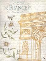 Golden Paris II Fine-Art Print