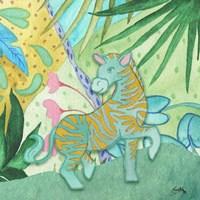 Playful Zebra Fine-Art Print