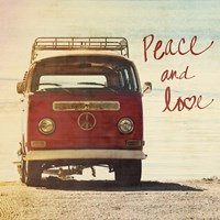 Peace and Love Fine-Art Print