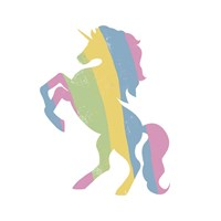 Multicolor Unicorn Fine-Art Print
