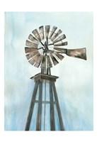 Lonely Windmill Fine-Art Print
