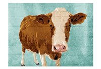 Brown Cow Now Fine-Art Print