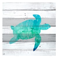 Watercolor Sea Life 3 Fine-Art Print