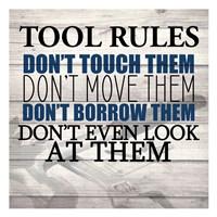 Tool Rules Fine-Art Print