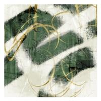 Emerald Mustard Prophecy 2 Framed Print