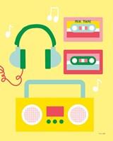 Lets Listen to Music II Fine-Art Print