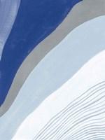 Retro Abstract IV Blue Fine-Art Print