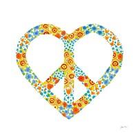 Peace and Love II Fine-Art Print