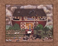 Red Barn Ark Fine-Art Print