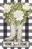 Home Sweet Home Cowboy Boots Fine-Art Print