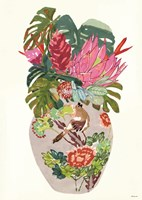 Tropical Vase II Fine-Art Print