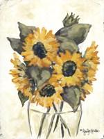 Harvest of Sunflowers Fine-Art Print