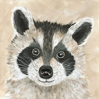 Roxie the Raccoon Fine-Art Print
