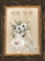 Read to Me Bunny Fine-Art Print