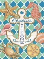 Seaside Welcome Anchor Fine-Art Print