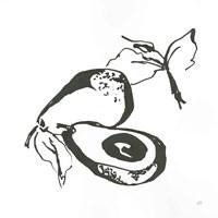 Avacado I BW Fine-Art Print