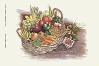 Vegetable Basket Fine-Art Print