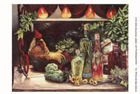 Rooster & Oils Fine-Art Print