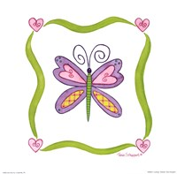 Lovebugs-Butterfly Fine-Art Print