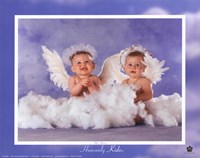 Heavenly Kids 2 Angels Fine-Art Print