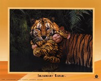 Imaginary Safari Tiger Fine-Art Print