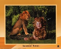 Imaginary Safari Lion Fine-Art Print