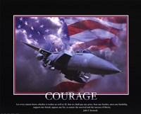 Patriotic-Courage Fine-Art Print