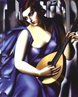 Femme a Guitare Fine-Art Print
