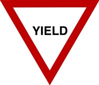 Sign - Yield Fine-Art Print
