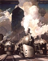 New York Central System Fine-Art Print