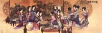 Ladies Playing Game Fine-Art Print