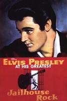 Jailhouse Rock Elvis Presley at his Greatest Fine-Art Print