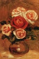 Roses In A Vase Fine-Art Print