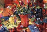Pitcher Of Flowers Fine-Art Print