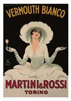 Martini and Rossi Vermouth Bianco Fine-Art Print