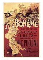 Puccini-La Boheme Fine-Art Print