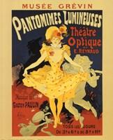 Pantomines Lumineuses Fine-Art Print