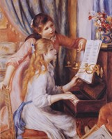 Girls At the Piano Fine-Art Print