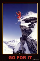 Go For It - Extreme Sport Wall Poster