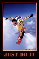 Just Do It - Extreme Sport Wall Poster